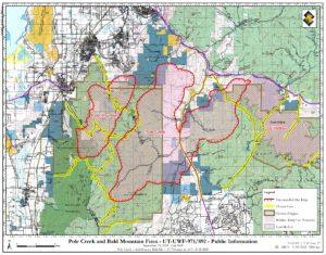 9 15 Update Pole Creek Bald Mountain Fire